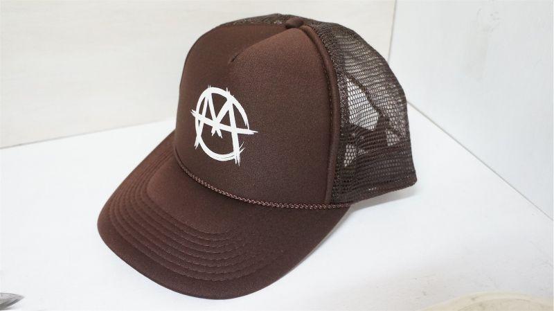 Markit Trucker Cap[ Brown/SnapBack ]