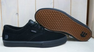 "画像1: Etnies ""Jameson Vulc"" Shoes [25cm/Black&Black]"