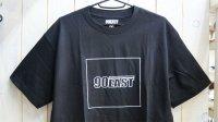 """~15%OFF~ 90East """"Line Logo"""" Tee [Black / M]"""
