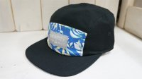 Merritt 5Panel Cap[BlueTropical /Ajustable]