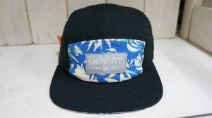 画像2: Merritt 5Panel Cap[BlueTropical /Ajustable]