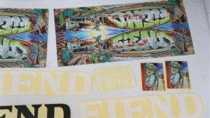 "画像2: Fiend ""Morrow V3"" StickerPack[22pc]"