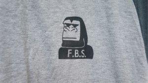 "画像2: Flourish ""Gorilla"" Raglan Tee  [Grey & DarkGrey/ M , L , XL]"