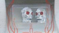 """バルブキャップ"""" Skull Head / Chrome"""""""