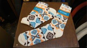 """画像1: Ethik """" Crew"""" Socks [Aztec Pattern]"""