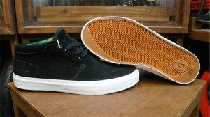 """画像1: State """"Albany"""" Shoes [Black & GypsySuede / 26.5cm]"""