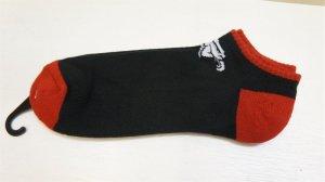"""画像1: Animal """"Low"""" Socks [Black/Red].."""
