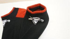 """画像2: Animal """"Low"""" Socks [Black/Red].."""