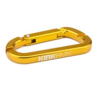 画像3: Kink Carabiner Spoke Wrench [3.2mm & 3.4mm /ニップルレンチ /Gold]