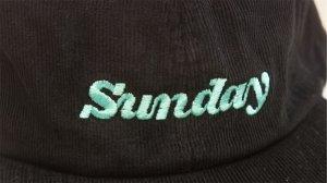 "画像2: Sunday ""Classy Cord"" Cap [Black/Snapback]"