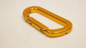 画像2: Kink Carabiner Spoke Wrench [3.2mm & 3.4mm /ニップルレンチ /Gold]